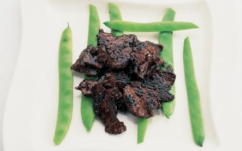 Bief with Oyster Sauce recipe