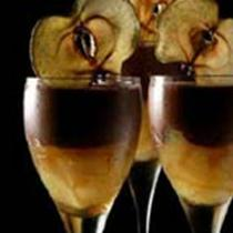 Chocolate Mousse with Apples